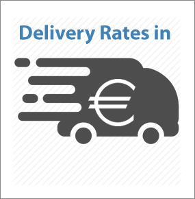Delivery rates in Euros