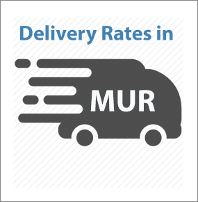 Delivery rates in rupees