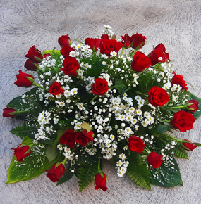 Red Roses Posy