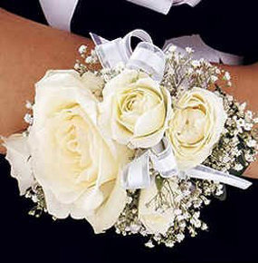 Wrist Corsage for Her